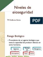 3. Niveles de Bioseguridad GEE