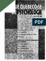 2000_LaGuardia and Ryan_Théorie Autodétermination Sentiment Compétence Relation Autrui