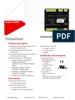 Inteli IO8 8 Datasheet