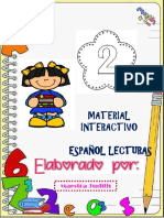 Lecturas Español 2°