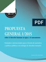 CDHDF 2015 Propuesta General sobre el derecho humano al agua y el saneamiento.pdf