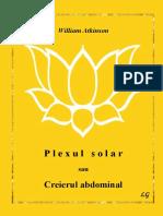 William Atkinson - Plexul Solar Sau Creierul Abdominal