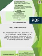 DiaPositiVas administración microempresarial