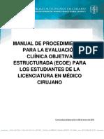 Manual Ecoe