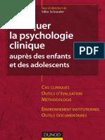 e-livre Schauder - Pratiquer la psychologie clinique aupres des E et des Ado.pdf