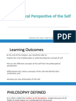2- Philosophical Perspective About Self (1)