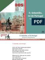 D. Sebastião, Rei de Portugal