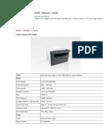Impresora Canon Toner