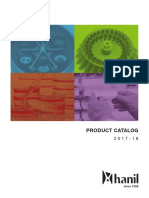 Hanil Product Catalog 2017-2018 Lowres