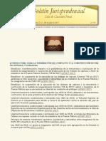 Boletín Jurisprudencial 2017-07-04