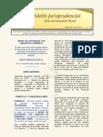 Boletín Jurisprudencial 2017-09-18