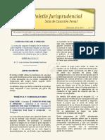 Boletín Jurisprudencial 2017-11-03