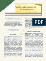 Boletín Jurisprudencial 2017-12-13