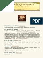 Boletín Jurisprudencial 2017-01-25