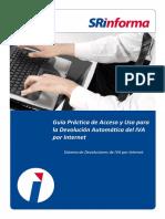 Guía Práctica de Acceso y Uso Para La Devolución Automática Del IVA Por Internet