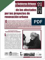 La Vision de Los Afectados Por La Renovacion Urbana - Debates Un