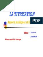 La Titrisation