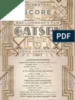 Digital Booklet - Gatsby Score