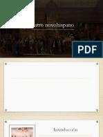 Teatro Novohispano y Poesía Novohispana