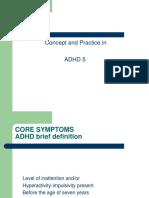 ADHD English Version