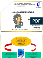 educacion universitaria
