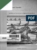 Michel Sandel Contra La Perfección