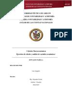Oswaldo Padilla - Cálculos Macroeconómicos