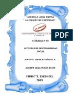 Actividad Nro 03 - Actividad de Responsabilidad Social_Vega Ocaña David