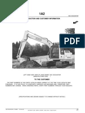 Escavadora John Deere 120C | Hvac | Air Conditioning