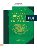 Fantastic Beast and Where to Find Them - Series 2