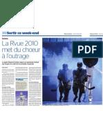 Tribune de Genève - La Rvue 2010