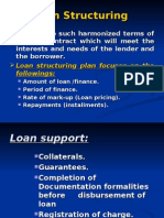 14 Loan Structuring