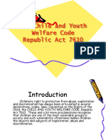 87913106 the Child and Youth Welfare Code RA7610