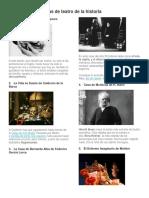 Las 10 Mejores Obras de Teatro de La Historia
