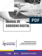 Manual Del Gobierno Digital
