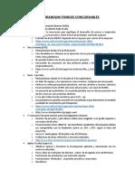 Memorandum Fondos Concursables Actualizado