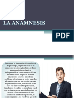 La Anamnesis