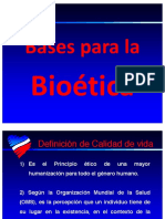 Bases Bioética