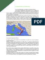 La Península Itálica en El Mediterráneo antiguo