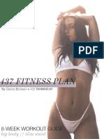 437 fitness plan