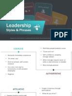 leadershipstylesandphrases