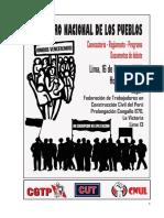 CONVOCATORIA, REGLAMENTO, PROGRAMA Y DOCUMENTOS DE DEBATE  ANPP