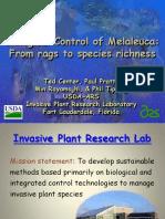 Center,Ted-biological Control of Melaleuca