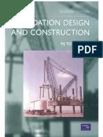 Rock Mass Tomlinson Foundation Design and Construction