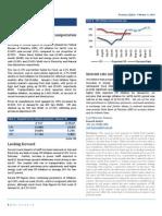 UBL Economy Update - Inflation on Upswing - February 11, 2010