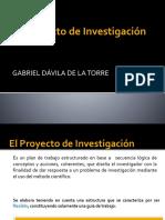 Etapas Del Proyecto de Investigacion