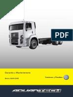 Manual de Garantia e Manutenção Motor D08
