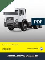 Manual de Instruções de Operação VW 31-390