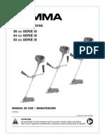 Manual Desmalezadoras x3 Baja
