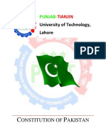 Constitution of Pakistan by Arslan
